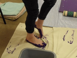 Footprints - Messy Church